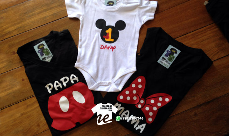 Playera y pañalero de Mickey Mouse